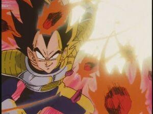 Vegeta vs Zarbon! The Confident Saiyan -Japanese Episode 52-