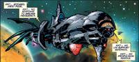 Phalanx Cruiser (Uncanny X-Men Vol 1 343)