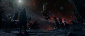 Ronan, Nebula and Thanos