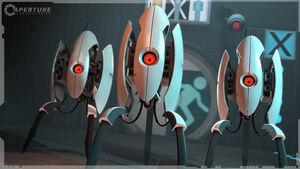 Adorable-Portal-Turrets