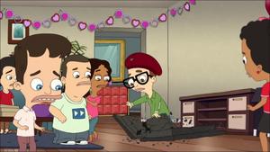 Andrew Destroys Lola's TV
