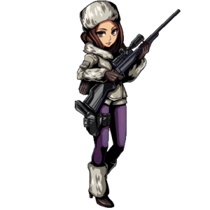 Jessica Sherawat Winter Gear (Clan Master)