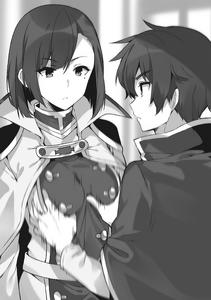 Kazuma gropes Seresdina's breasts
