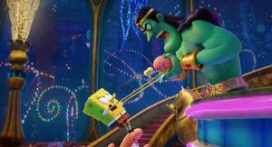 King Poseidon VS Spongebob