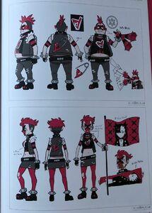 Team yell grunts concept art