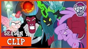 The Villains Attack Canterlot! (The Ending of the End) MLP FiM HD