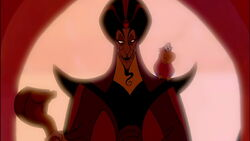 Jafar, as he appears in the first movie.