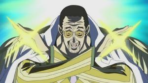 Borsalino Using Devil Fruit in the Anime