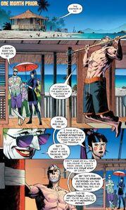 Deathstroke ,The Joker, and Punchline Batman secert file Vol 1 3