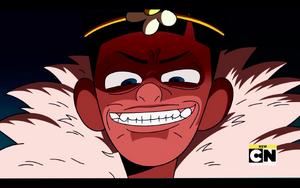 King Xavier's Evil Grin