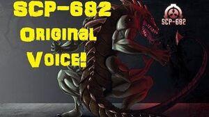 SCP 682 Original Voice