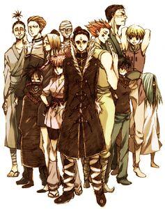 The Phantom Troupe Group