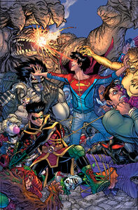 The Super Sons Vol 1 4 textless