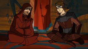 Anakin Skywalker tribal camp