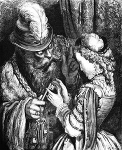Bluebeard dore