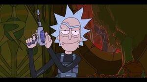 Rick & Morty Season 3 Rick Escapes Prison