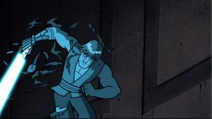 Skywalker wall-slammed