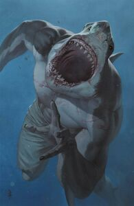 Suicide Squad King Shark Vol 1 1 Textless Variant