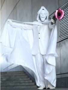 White Cloaked Killborero
