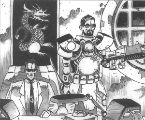 Black Dragon Triad (Mutant Chronicles, Mishima Sourcebook)