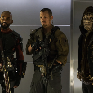 Deadshot, Rick Flag and Killer Croc.png