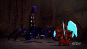 Paralon with Buzzstrike on Scorpion Mode.