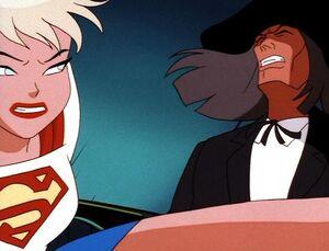 Supergirl vs. Reverend Amos Howell