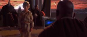 Anakin Skywalker tested
