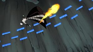Asajj Ventress fireball leap