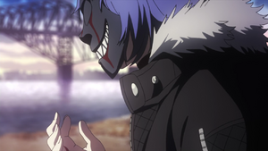 Ayato with a mask