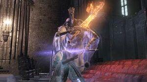 Dark Souls 3 Pontiff Sulyvahn Boss Fight (4K 60fps)