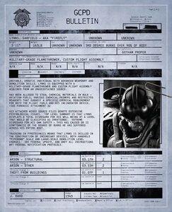 Firefly GCPD Bulletin
