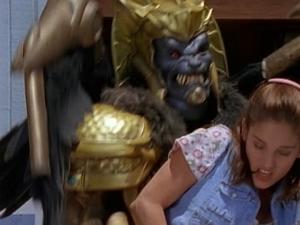 Goldar kidnaps Kimberly