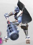 NG2 Render Boss Tengu Blue
