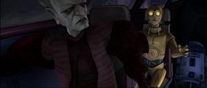 Chancellor Palpatine turbulence