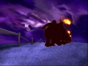 Eustace Bagge's defeat