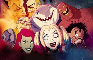 Harley Quinn's Crew Harley Quinn TV Series 001