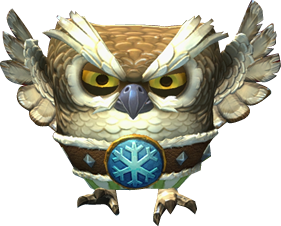 Owl Snowmad Artwork - Donkey Kong Country Tropical Freeze