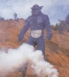 Wolf Man Shocker Kaijin