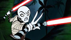 Asajj Ventress Force duel