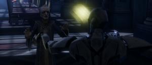 Chancellor Palpatine held