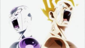Frieza Goku Finale Attack