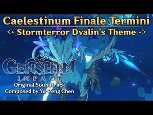 Genshin Impact Original Soundtrack- Caelestinum Finale Termini — Stormterror Dvalin's Theme