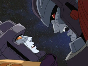 Starscream and Megatron (Rebellion (Armada))
