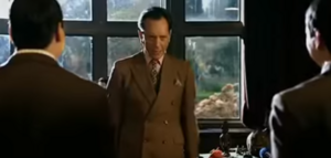 Van Wrinkle Ordering His Henchmen