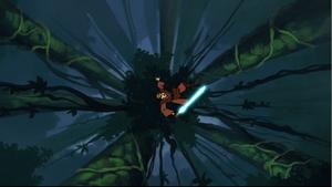 Anakin Skywalker foilage fall
