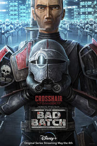 Crosshair character poster
