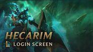 Hecarim, the Shadow of War Login Screen - League of Legends