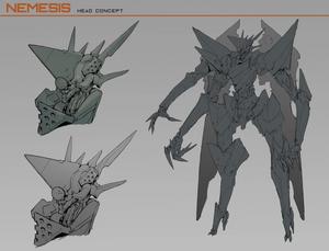 Nemesis Head Concept