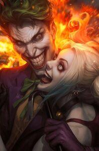 The Joker 80th Anniversary 100-Page Super Spectacular Vol 1 1 Joker Harley Quinn Textless Variant